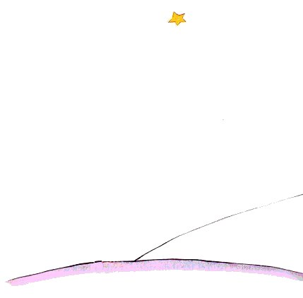 the little prince antoine de saint exupery for me this is the loveliest and the saddest landscape in the world it s the same landscape as the one on the preceeding page but i ve drawn it one more